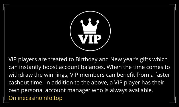 Online casino VIP membership offers