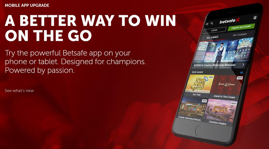 Betsafe Casino Mobile app