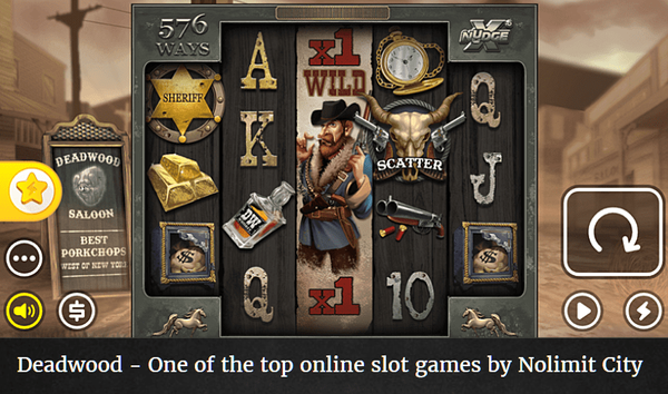 Best Nolimit City slot - Deadwood