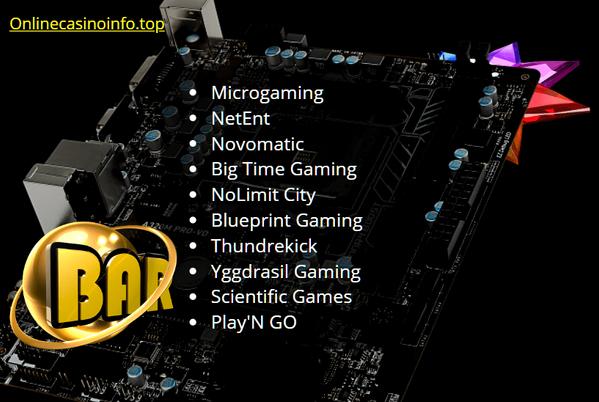 10 Best online casino software providers