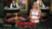 Roulette with live dealers