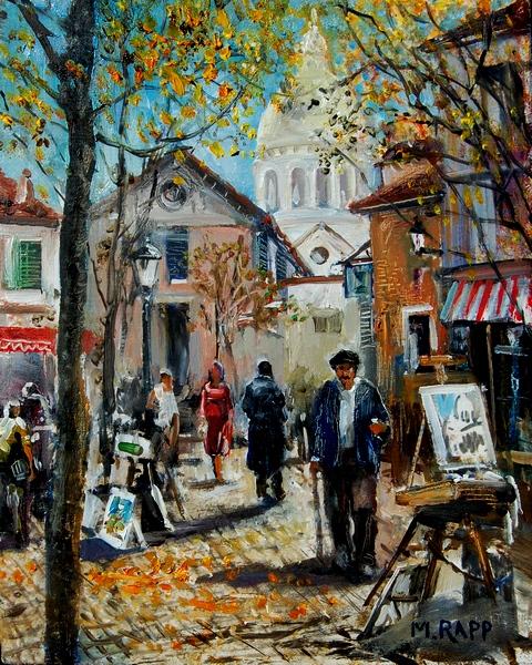 Artist Market, Montmartre