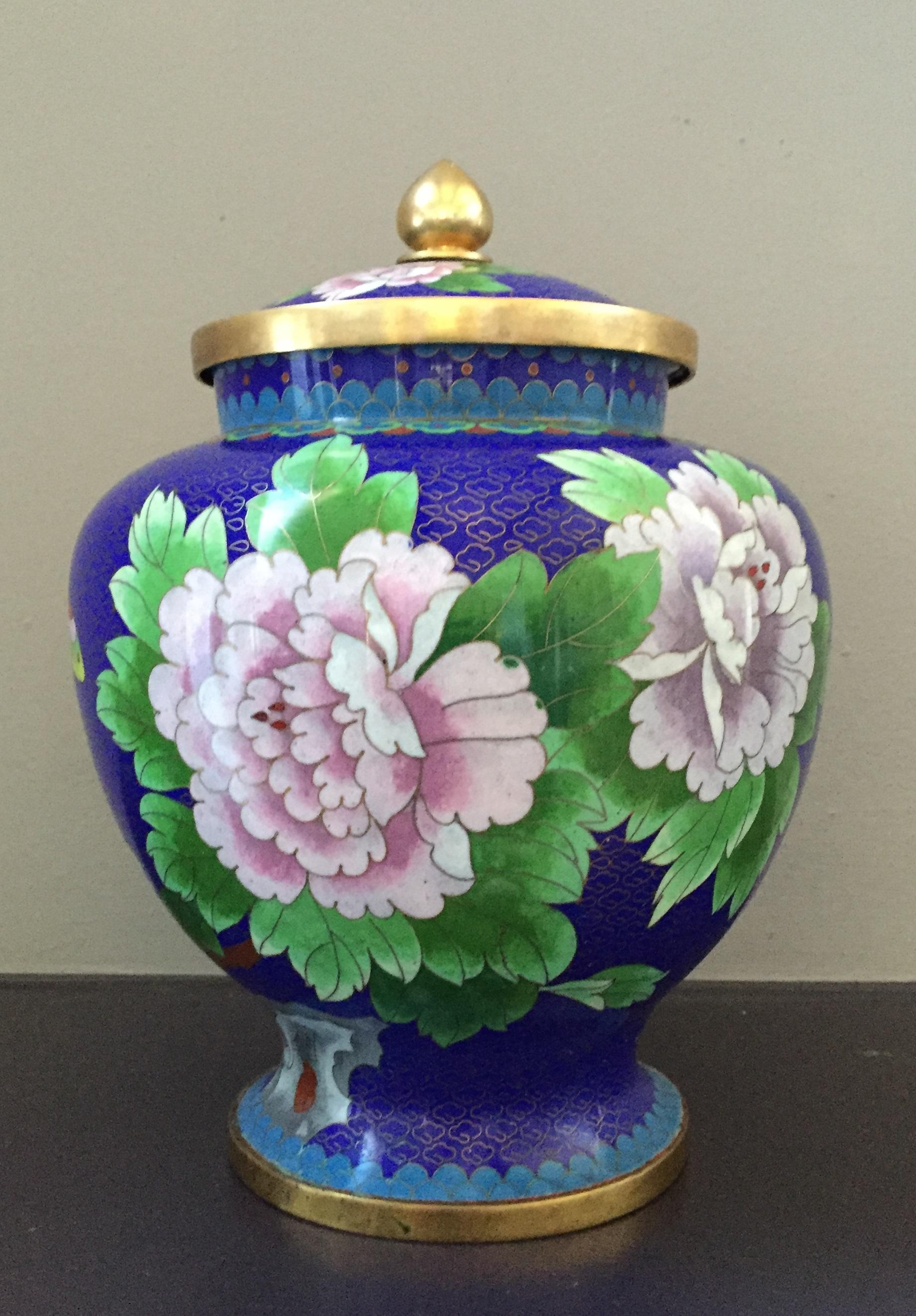 Cloisonne Jar