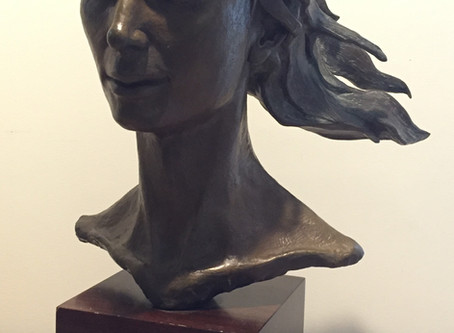 Captivating works by Master Sculptor,           Dan Pogue