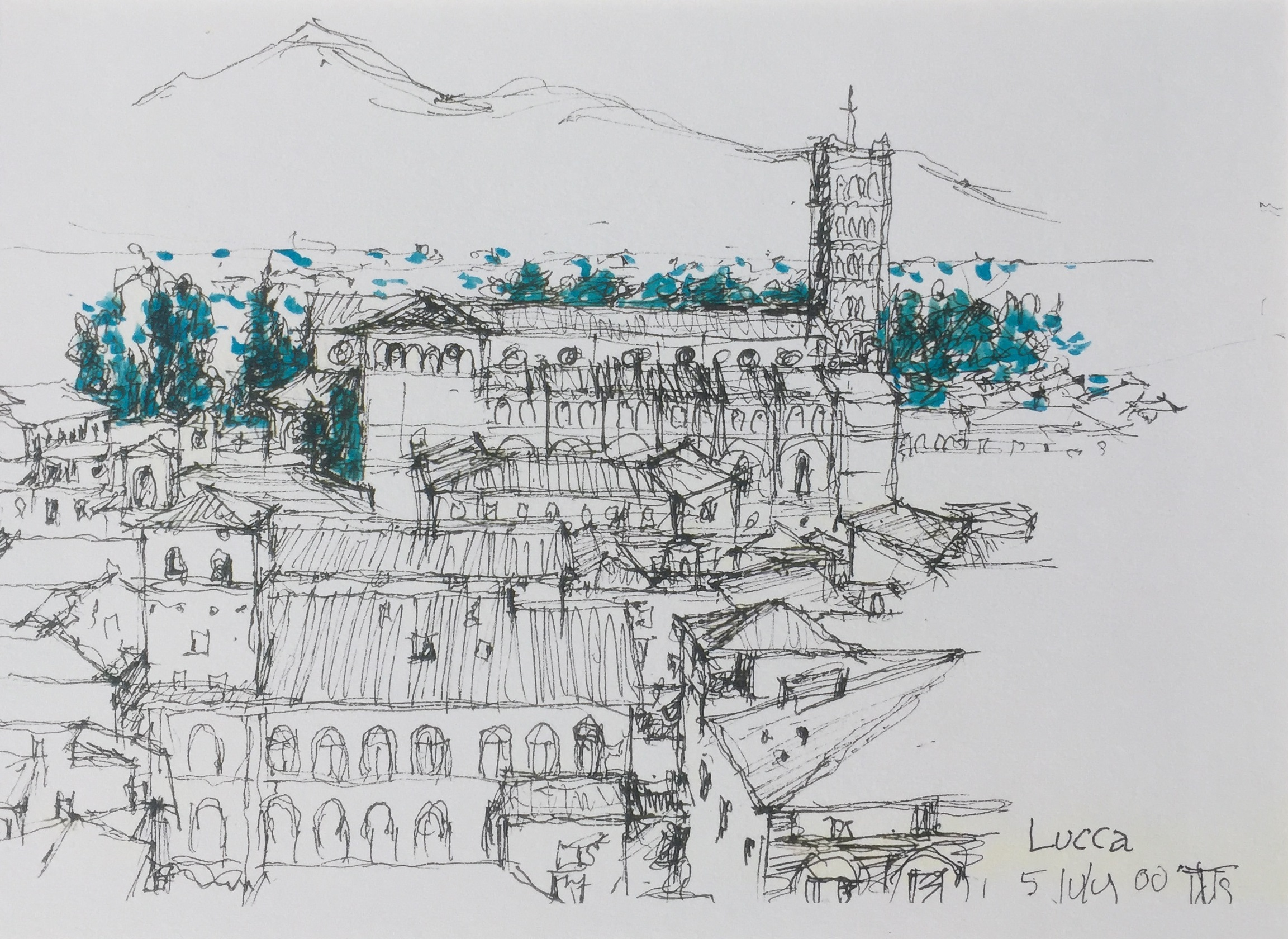 Lucca, featuring San Michele