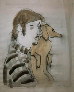 Man with Mauzy