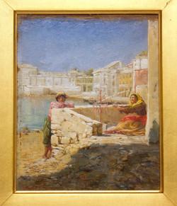 Gossips, A Venetian Scene