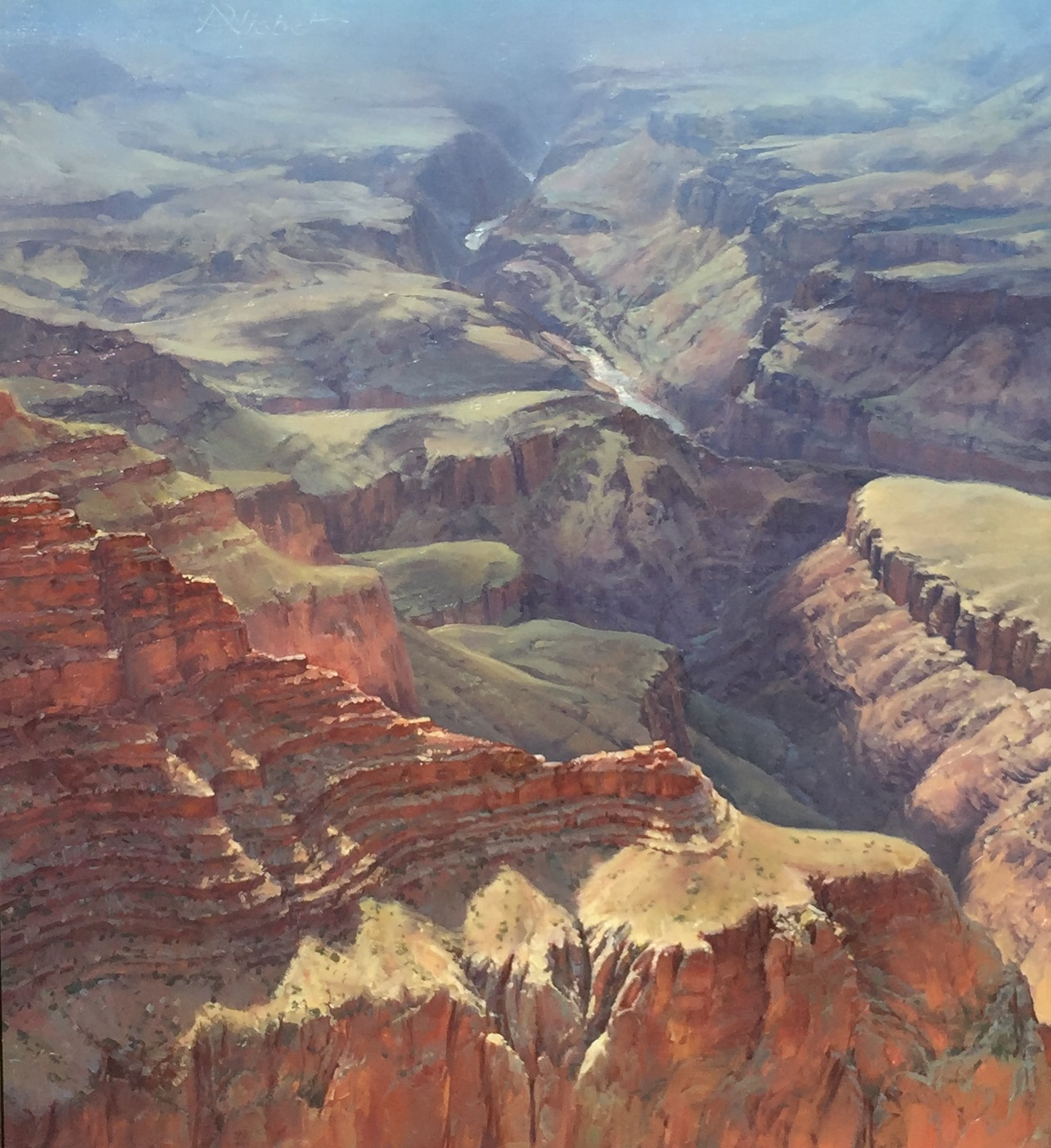 West View, Lipan point