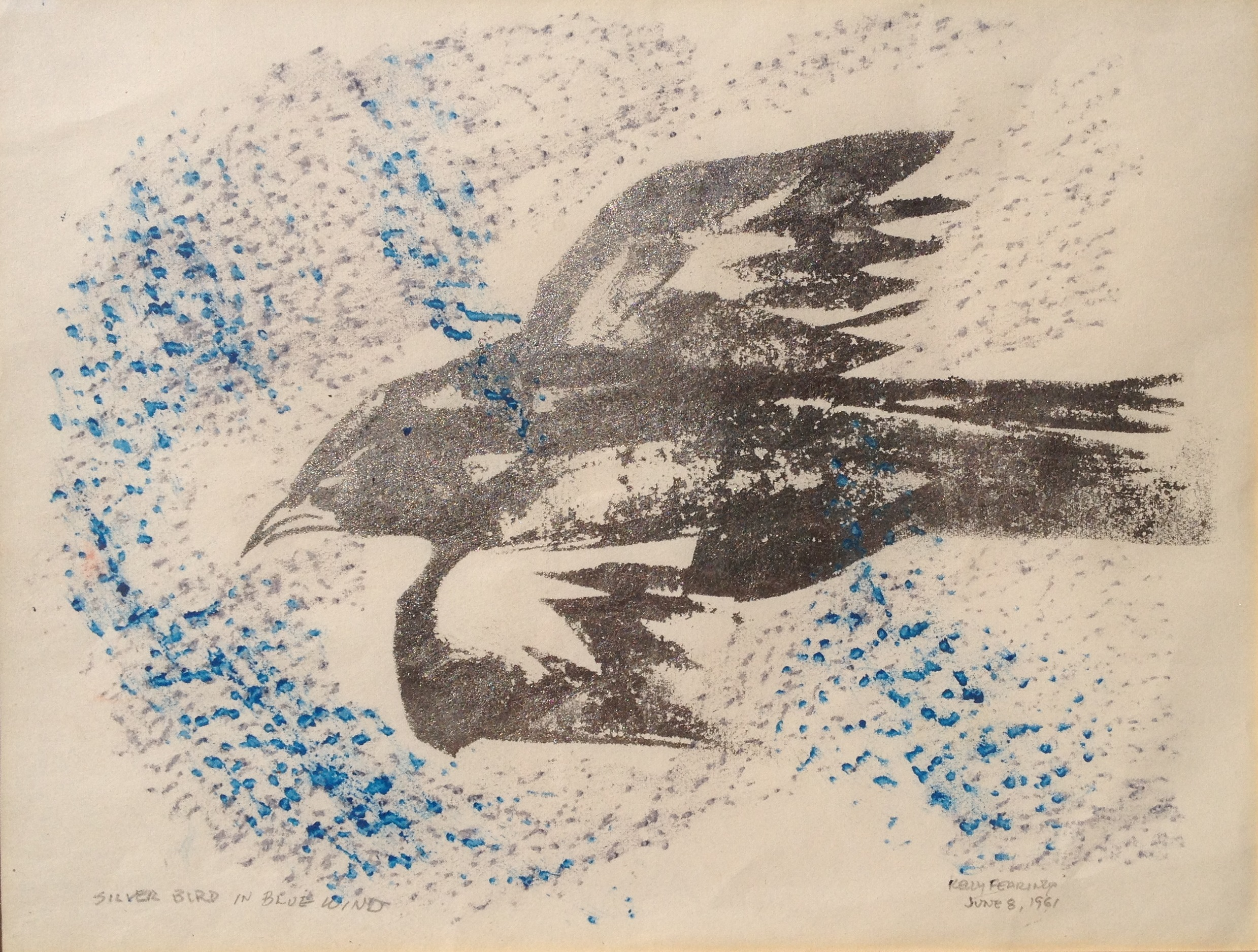 Silver Bird in Blue Wind 1961