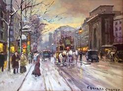 Porte St. Martin in Winter