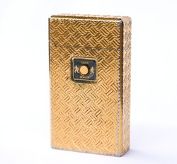 Colibri Gold Plated Lighter w/ Touch Sensor