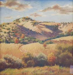 Untitled Hillside Landscape