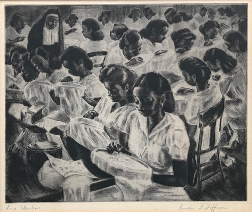 Lace Makers, Puerto Rico