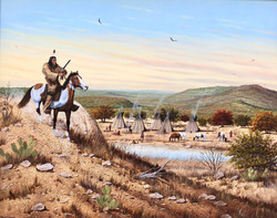 Native American Overseeing Tribe