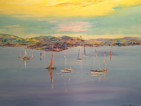 Paintings by Kalinka Duaiv