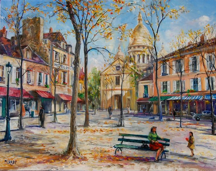 Tertre Place, Montmartre