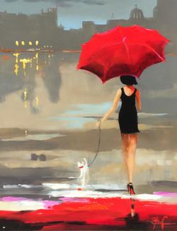 Walkies in the Rain