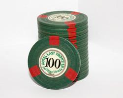 $100 Chip | Hotel Last Frontier | 1948