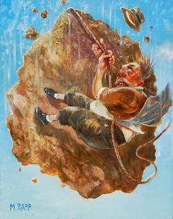 Climbing a Falling Rock
