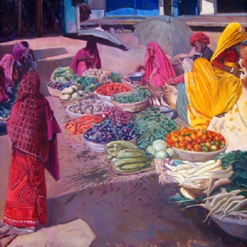 Market (Pushkar)