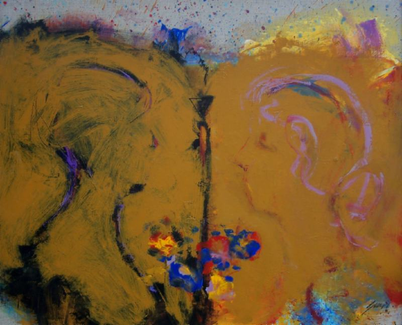 Mustard Abstract
