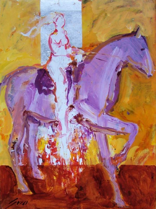 A Purple Horse