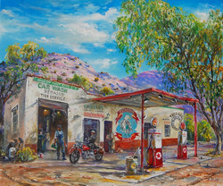 Tierra Amarilla gas & Trading Post