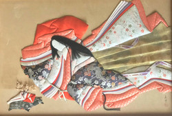 Traditional Japanese Oshie Artwork