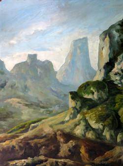 Untitled Desert Mountain Landscape