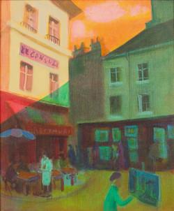 Painter in Montemarte