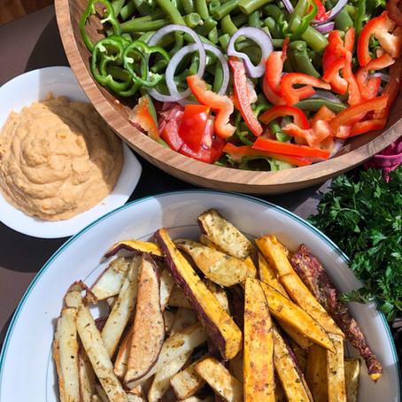 Frites Maison et Mayo Vegan