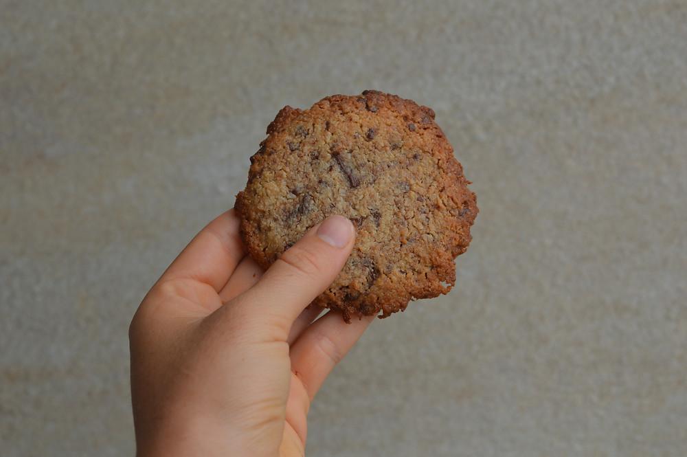 vegan cookies sans gluten free Tahiti beewell Manon Coirre recette saine healthy gourmande chocolat moelleux coconut tahini
