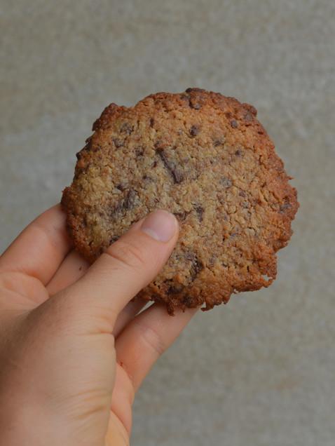 Cookies chocolat, coconut et tahini.           VEGAN & GLUTEN FREE
