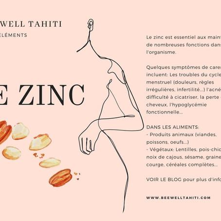 Les oligo-éléments: Le Zinc