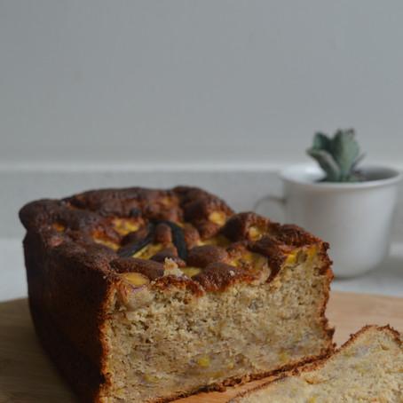 Healthier Banana Bread                                               - gâteau banana (plus) sain
