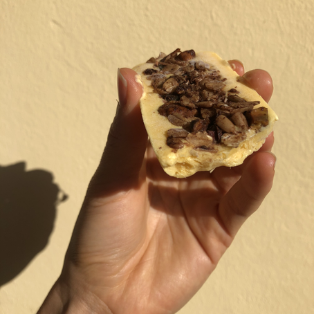 Barres Glacées au Yaourt, Mangue & Granola Cacao
