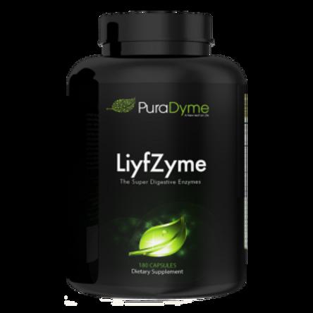 LiyfZyme Super Digestive Enzymes by PuraDyme