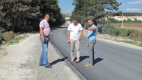 """Райдержадміністрація та Гуменецька громада працювала на відремонтованій дорозі """"Гуменці-Нігин"""""""