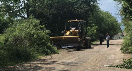 Розпочалися підготовчі роботи до проведення ремонту на ділянці дороги С 230843 Нефедівці – Лучки