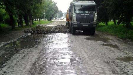 У Кам'янці-Подільському розпочали ремонт траси Н-03