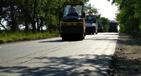 Дорога у напрямку Подільське – Нефедівці вже повністю асфальтована.