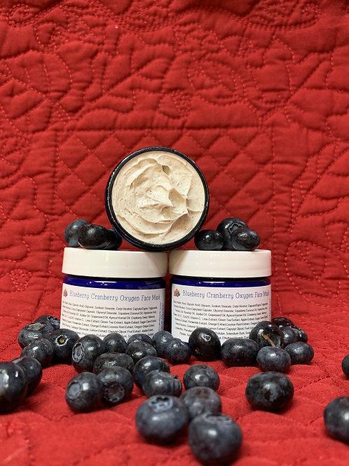 Blueberry Cranberry Oxygen Face Mask