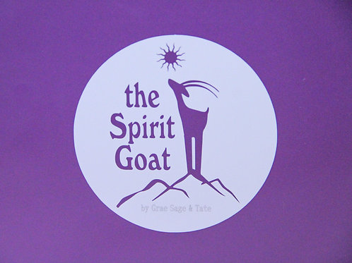 Spirit Goat Sticker