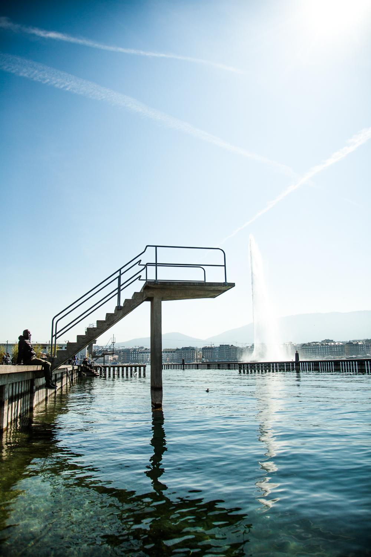 Bain du Paquis - Genève