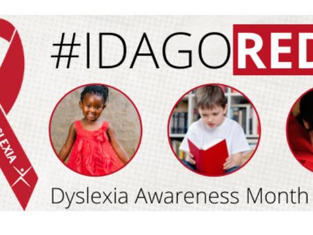 October Worldwide Dyslexia Awareness Month