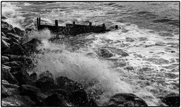 Amroth on Boxing Day
