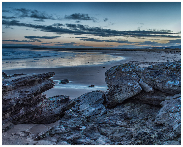 Dornoch Beach at Twilight