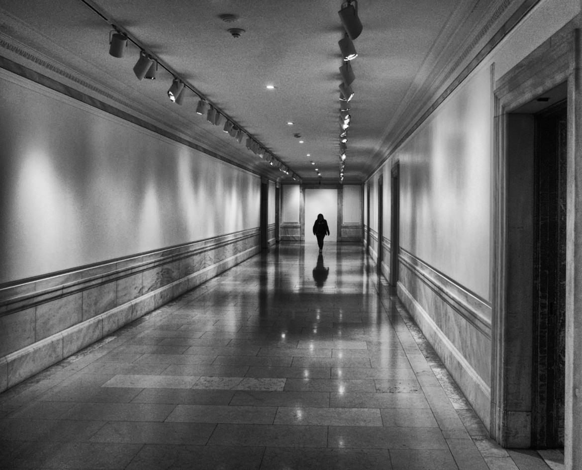 Below Stairs, New York Public Library by John Hufferdine