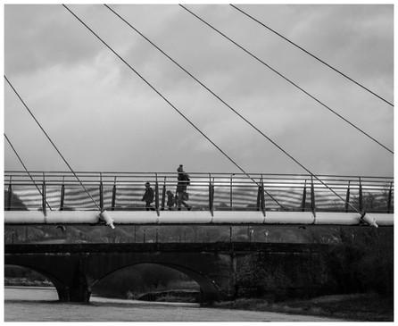 The walk home by Maria Pearce