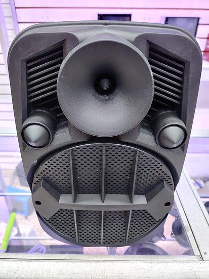 Caja Amplificada Recargable 8 Pulgadas con Micrófono